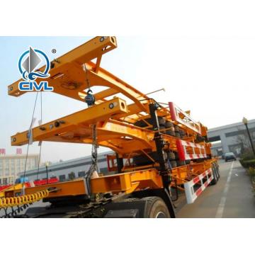 Ρυμουλκούμενο 3 Axles Container Transport 40FT Skeleton