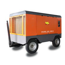 75 KW Portable Air Compressor Prices Diesel Engine Screw Air Compressor with Wheels