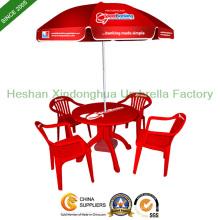 Logotipo personalizado impresso guarda-sol promocional para a mobília ao ar livre (BU-0040)
