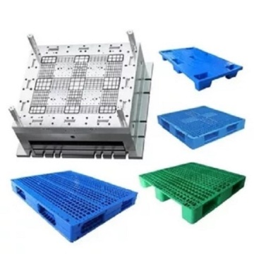Grid Nine Feet Single Board Plastic Pallet