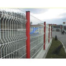 PVC-überzogener Kurven-Maschendraht, der ISO9001 ficht: 2008