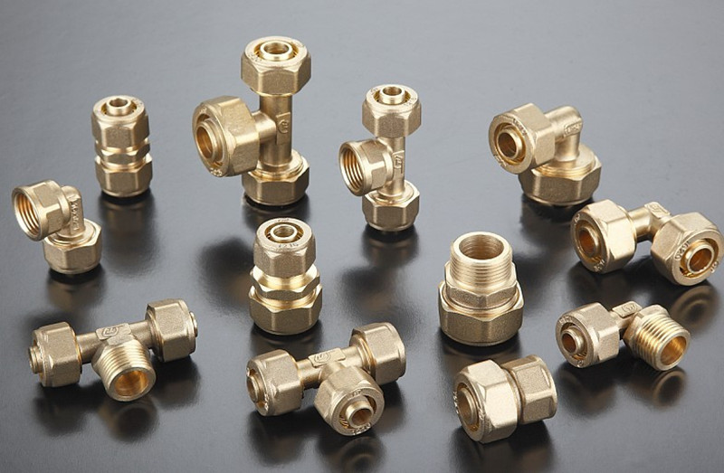 Pipe Fittings Coupling Brass