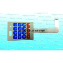 Interruptor de membrana protótipo personalizado com 3M467