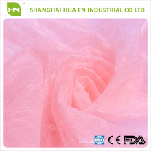 """Pink Bouffant Cap /24"""" Non woven PP Cap with Colorful"""