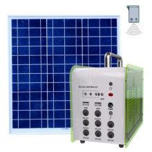 Sistema de luces solares al aire libre Equipo de panel solar al por mayor