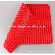 Hot Selling Custom China Professional Fabricant Famille Durable Non-Stick Food Grade Fat Reducing Silicone Baking Mat