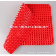 Hot Selling Custom China Professional Fabricante Família Durable Non-stick Food Grade Fat Redução Silicone Baking Mat