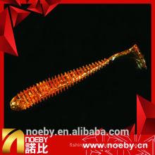 NOEBY lure 12 cm double colour soft plastic minnow lure
