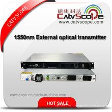 Экономичный 1550нм волоконно-оптический передатчик с внешней модуляцией / 1550 внешняя модуляция Оптический лазерный передатчик