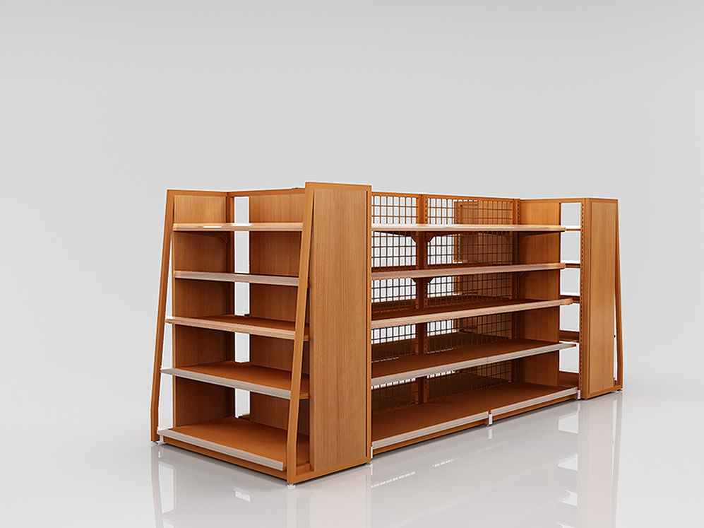 Steel Wood Shelving