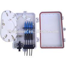 Boîte à bornes en fibre optique intérieure, ftth mini boîte à bornes optique, boîte à bornes à fibre optique insert sc / upc cochon optique