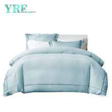 Good Quality Super King 100 Egyptian Cotton Blue Soft Pure Hotel Bed Linen