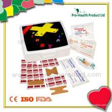 Kleine Kunststoff-Erste-Hilfe-Box (PH023)