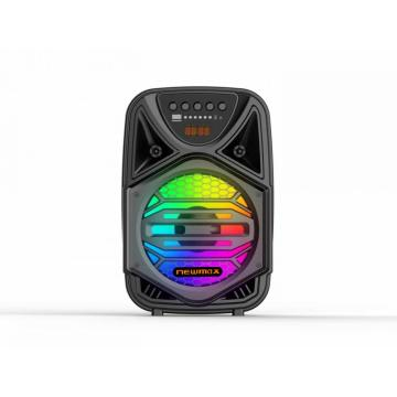 Altavoz trolley con luces RGB