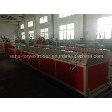 Китай линия по производству ПВХ для пластиковых оконных и дверных профилей