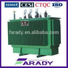 3-phasentransformator 100 kva ölgetauchte Erdungstransformator