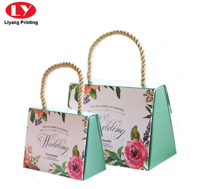 Colorful Paper Bag with Handle