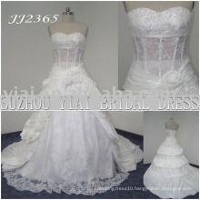 2011 latest elegant drop shippiong freight free ball gown style 2011 wedding dress JJ2365
