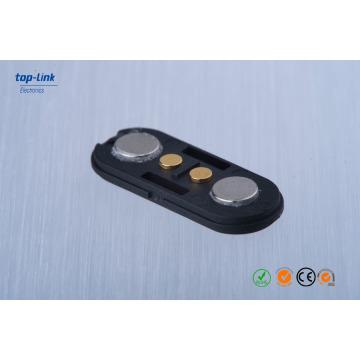 Conector magnético do Pin de Pogo de 2 pinos com personalizado