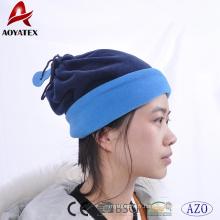 Bonnets 100% polyester hiver chaud polaire et écharpe de cou