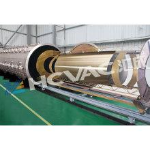 Máquina de revestimiento de oro PVD de placa de acero