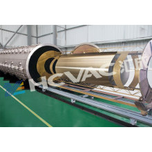 Machine de revêtement d'or en acier inoxydable PVD