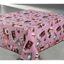 A Rectangular Patterned Tablecloth