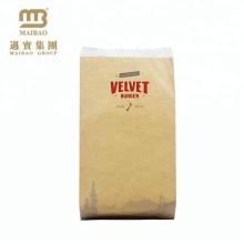 Изготовления Китая Изготовленный На Заказ Цветастый Гамбургера Упаковывая Мешок Kraft Бумажный