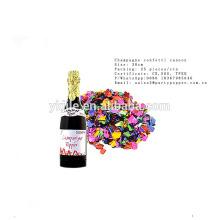 Canon de confettis de bouteille de Champagne de haute performance avec de bas prix