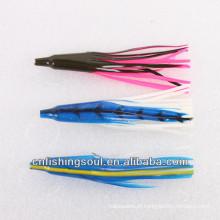 SLL037 14g / 15 cm, nova isca de pesca para a pesca de mar isca soft saia iscas de pesca