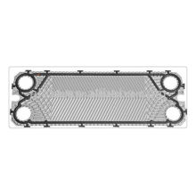 S8 plate heat exchanger gasket and plate