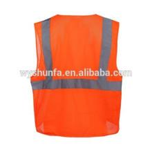 ANSI / ISEA 107-2010 спасательные жилеты, жилеты из полиэфирной сетки с несколькими карманами, 3M отражающие жилеты