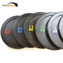Weight Lifting Rubber Used Bumper Plates