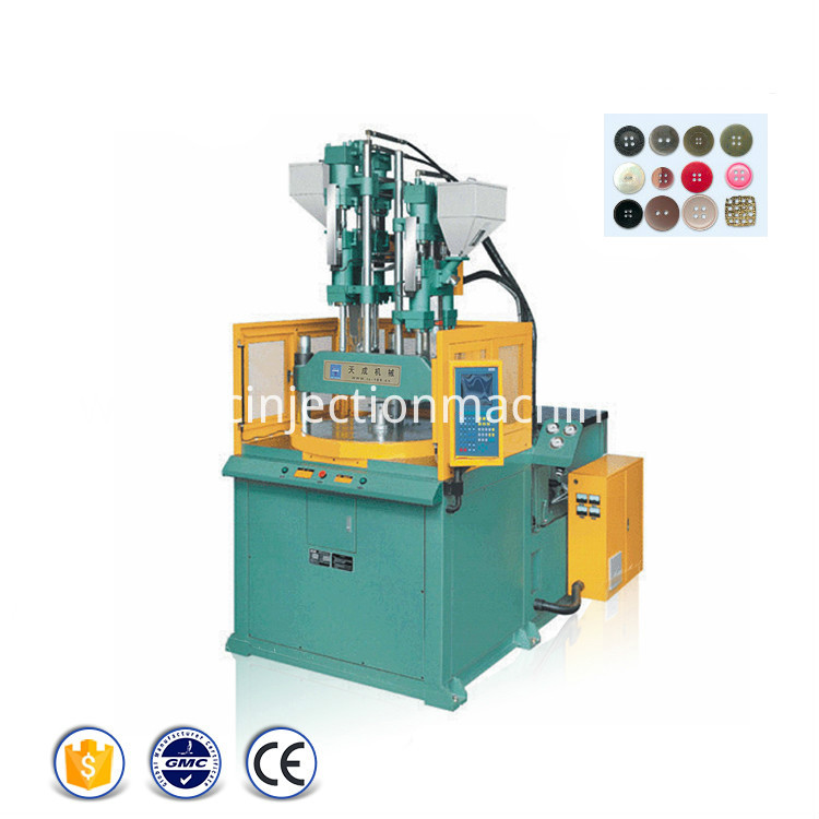 Button Rotary Injection Molding Machine