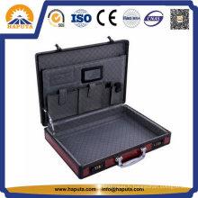 Housse d'ordinateur portable avec panneau rouge et 2 serrures à combinaison