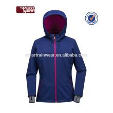 Moda jovem design jaqueta casaco de outono e inverno casaco morno softshell