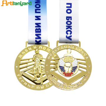Liberty Sports Medals With Gravering Logo