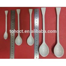 Cuchara de cerámica de laboratorio procelain