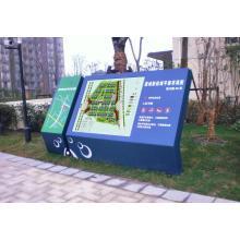 Extérieur parc attractif mise en carte répertoire Non éclairée signe