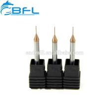 BFL Carbide Endmill Carbide Micro Diâmetro Endmill Ferramentas De Corte De Ouro