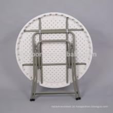 Tabela portátil moderna do molde de sopro da tabela redonda de mesa de jantar 8ft