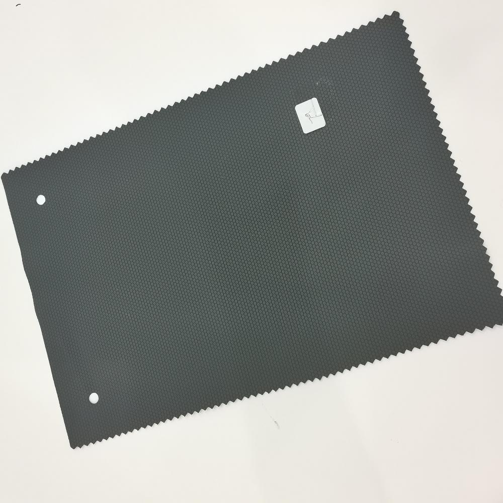 Orthohexagonal Grain Pvc Leather