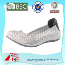 light weight comfortable women weave shoes