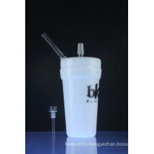 """""""Dabuccino"""" Style DAB Cup Rig Glass Smoking Water Pipes (ES-GB-386)"""