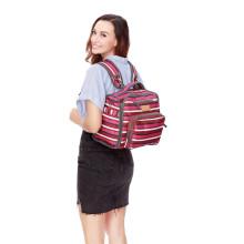 Fralda, mochila moda, fralda, saco, com, em mudança, almofada