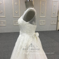 Elegant a-line white wedding dress 2017 alibaba china bridal gown