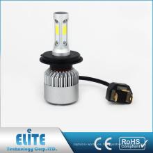 Linterna de la serie de S2 COB H4 H13 9004 9007 8000lm 6500k haz blanco puro bajo con garantía del CE ROHS
