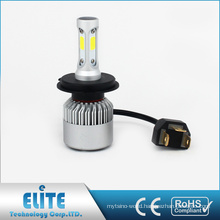 Stable Quanlity LED Headlight 8000lm 6500k COB Bulbs Series 2PCS Of H4 H13 9004 9007 with CE ROHS