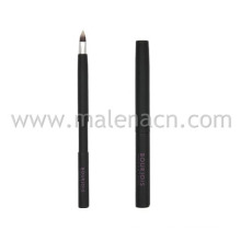 Cosmetic Retractable Lip Makeup Brush with Synthetic Hair