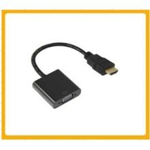 Мини-HDMI к VGA кабель преобразования видео